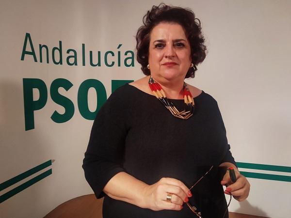 Teresa Jiménez, parlamentaria socialista.
