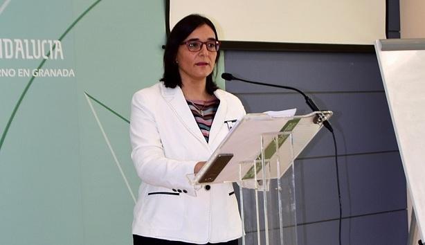 María José Martín, delegada de Agricultura.