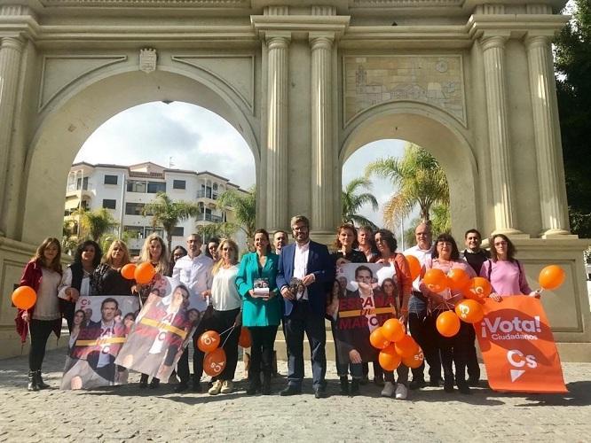 Miembros de Ciudadanos en Almuñécar.