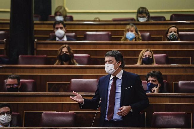 Carlos  Rojas, en el Congreso.
