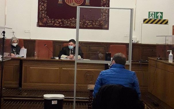 Un momento del juicio contra el exalcalde.