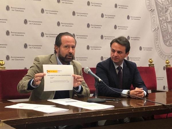 Francisco Ledesma y Juan Antonio Fuentes.
