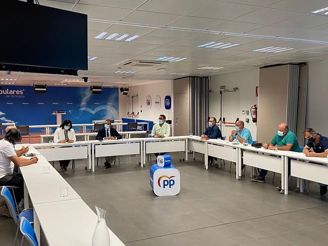 Reunión del PP con representantes de la Junta de Usuarios de los ríos Verde, Seco y Jate.