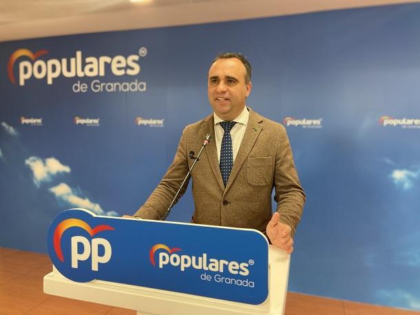 Francisco Rodríguez, presidente provincial del PP.