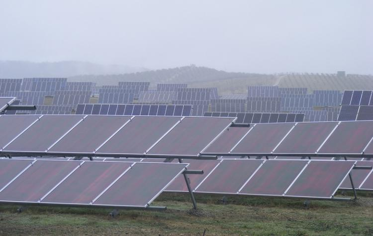 Planta solar en Las Gabias.