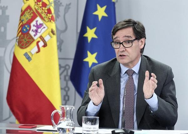 Salvador Illa, tras el Consejo de Ministros del 28 de julio.