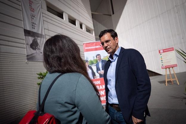Cuenca ha presentado sus propuestas culturales frente al Centro Lorca.