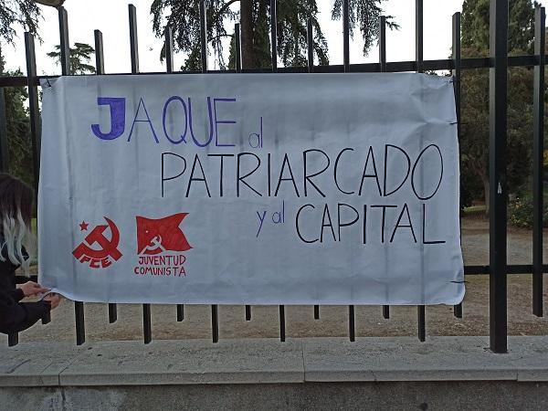 Cartel de la campaña de Juventud Comunista.