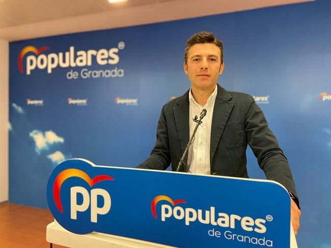 Jorge Saavedra, secretario provincial del PP.