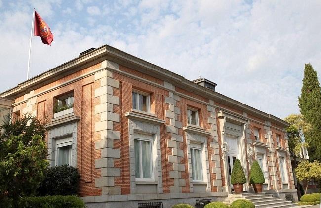 Palacio de la Zarzuela, residencia de la Familia Real.