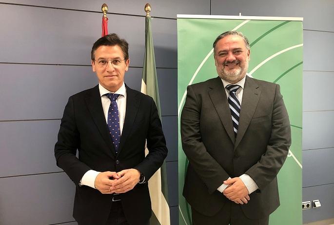 Luis Salvador y Pablo García.