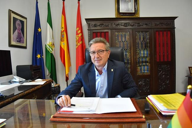 Manuel Gavilán, alcalde de Baza.