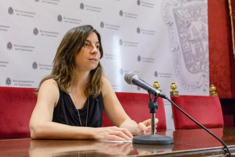 Marta Gutiérrez en una imagen de archivo.