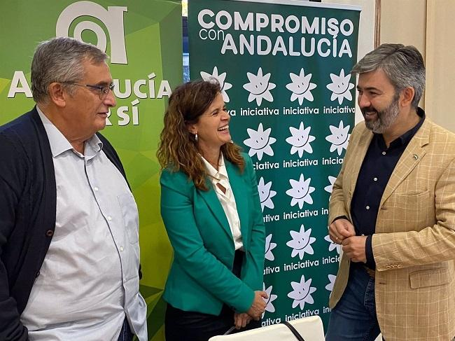 José Antonio Jiménez, Esperanza Gómez y Modesto González.