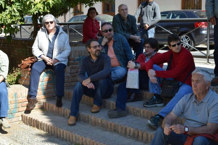 Matarán con integrantes de círculos de Podemos en un acto en la capital.