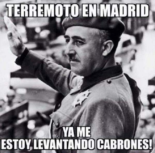 'Meme' de Franco sobre el que uno de los concejales escribió: 'Ojalá'