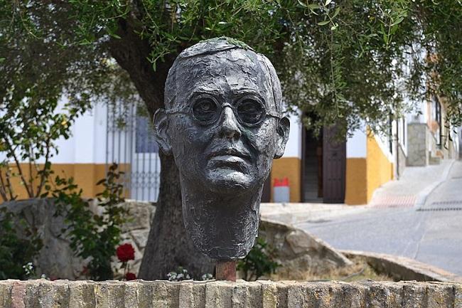 Monumento a Blas Infante en Paterna de la Rivera (Cádiz).
