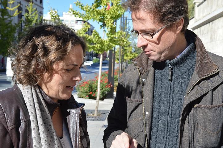 Manuel Morales con María del Carmen Pérez.