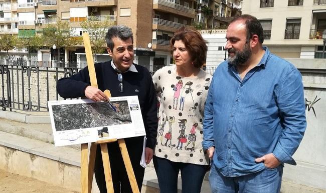 Antonio Cambril, Elisa Cabrerizo y Paco Puentedura.