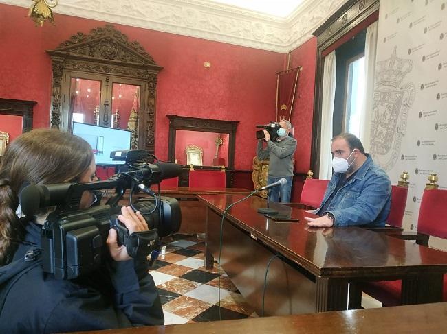 Francisco Puentedura en rueda de prensa.