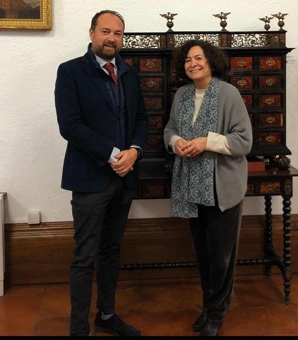 Ramón Herrera y Pilar Aranda.