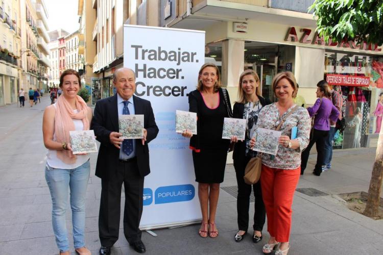 Presentación de las propuestas sobre turismo, comercio y obras municipales.