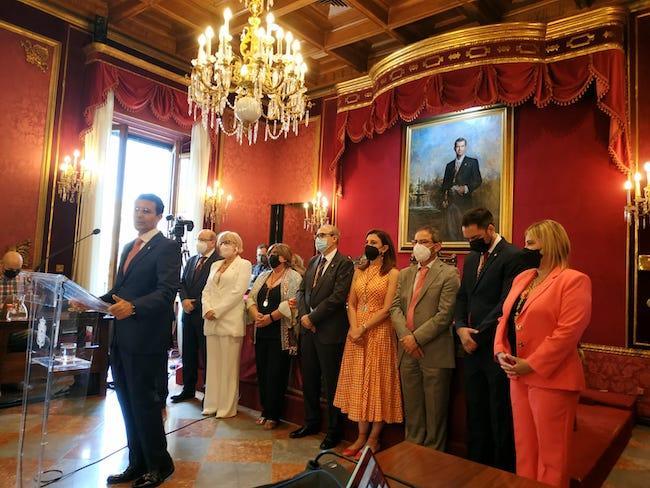 Cuenca con el grupo socialista.