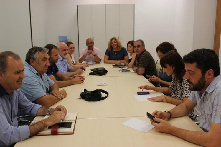 Reunión entre el PSOE y la Mancomunidad de la Costa Tropical.