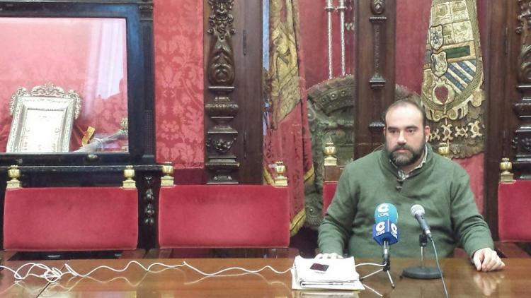 Francisco Puentedura, en rueda de prensa.