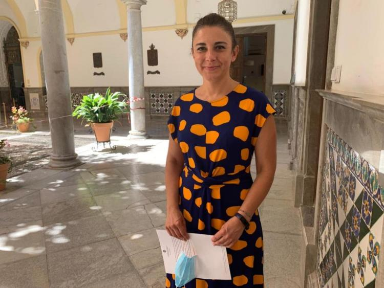 Raquel Ruz, edil socialista en la capital.