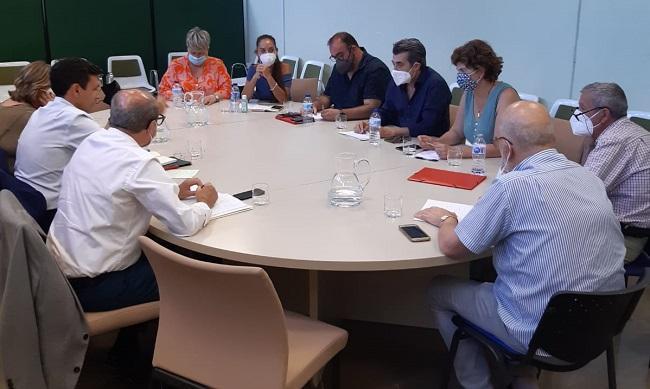 Reunión este miércoles entre socialistas y Unidas Podemos.