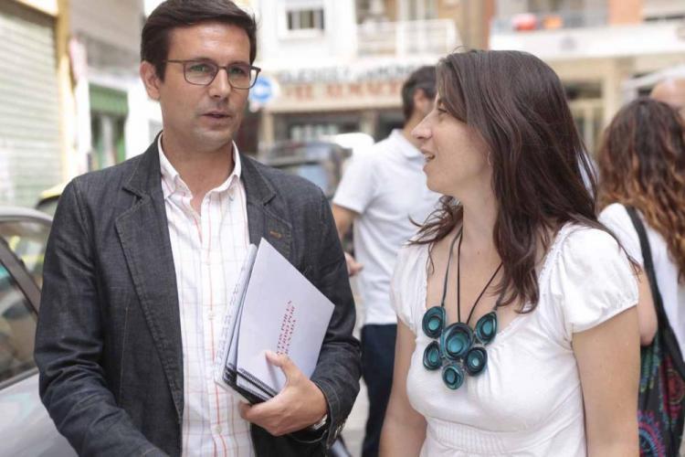 Paco Cuenca y Marta Gutiérrez.