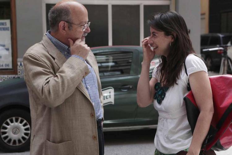 Luis de Haro y Marta Gutiérrez.