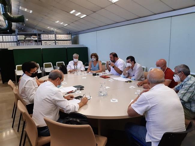 Reunión entre PSOE y Unidas Podemos.