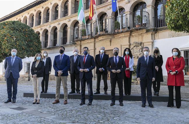 Consejo de Gobierno celebrado hoy en Ronda.