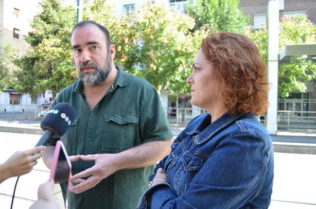 Francisco Puentedura y María del Carmen Pérez.