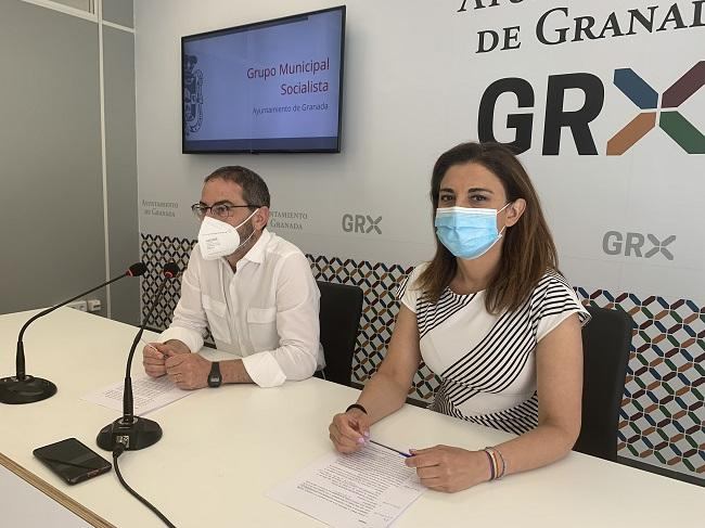 Raquel Ruz y Miguel Ángel Fernández Madrid en rueda de prensa.
