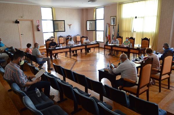 Pleno del Ayuntamiento de Salobreña.