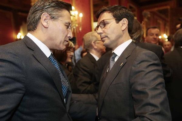 Francisco Cuenca y Luis Salvador.