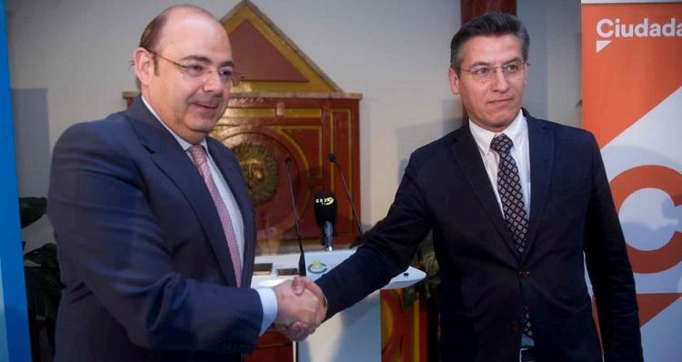 Sebastián Pérez y Luis Salvador, en una imagen de archivo.