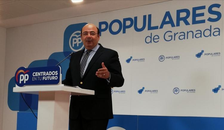 Sebastián Pérez, este miércoles en rueda de prensa.