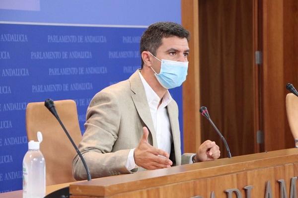 Sergio Romero, portavoz parlamentario de Cs.