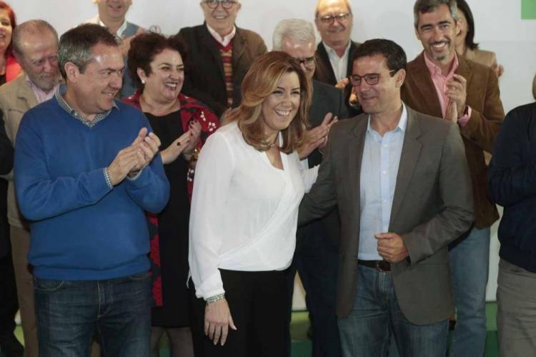 Susana Díaz, el pasado sábado en Granada.