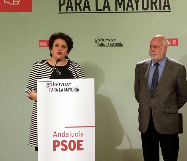 Teresa Jiménez junto a Gregorio Cámara.