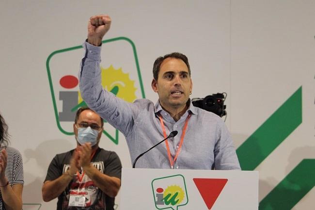 Toni Valero, tras su reelección.