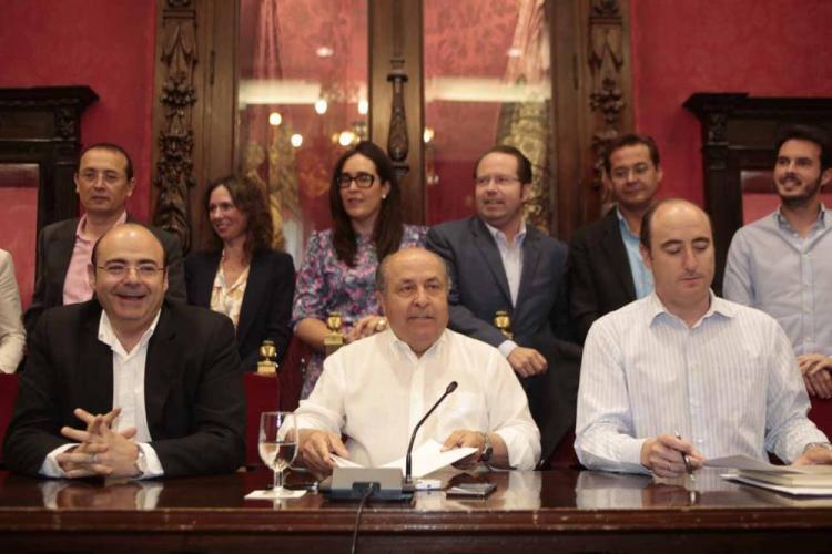 Torres Hurtado se siente respaldado por su partido, como así se reflejó.