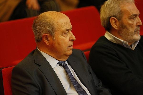 José Torres Hurtado y Manuel Lorente, durante el juicio.
