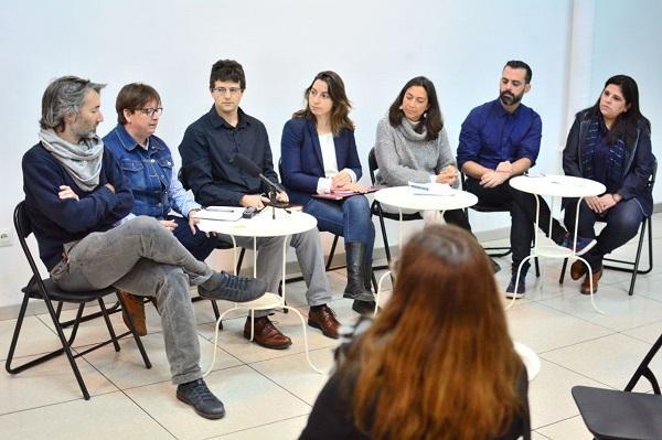 Imagen de archivo de una reunión de Vamos Granada.
