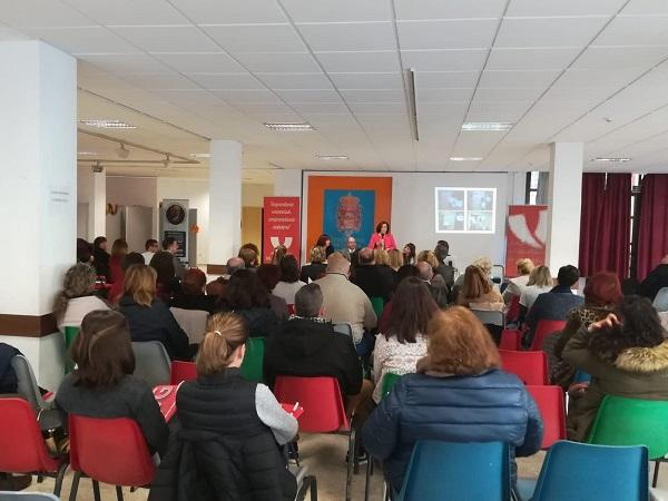 La consejera en funciones de Igualdad y Políticas Sociales, este sábado en Granada.