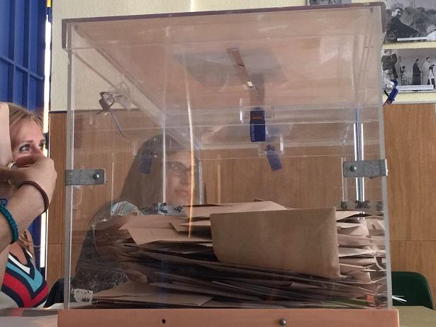 Urna electoral en las últimas generales.